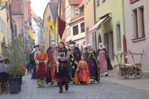 Los artesanos, los pilares de la Festa da Istoria